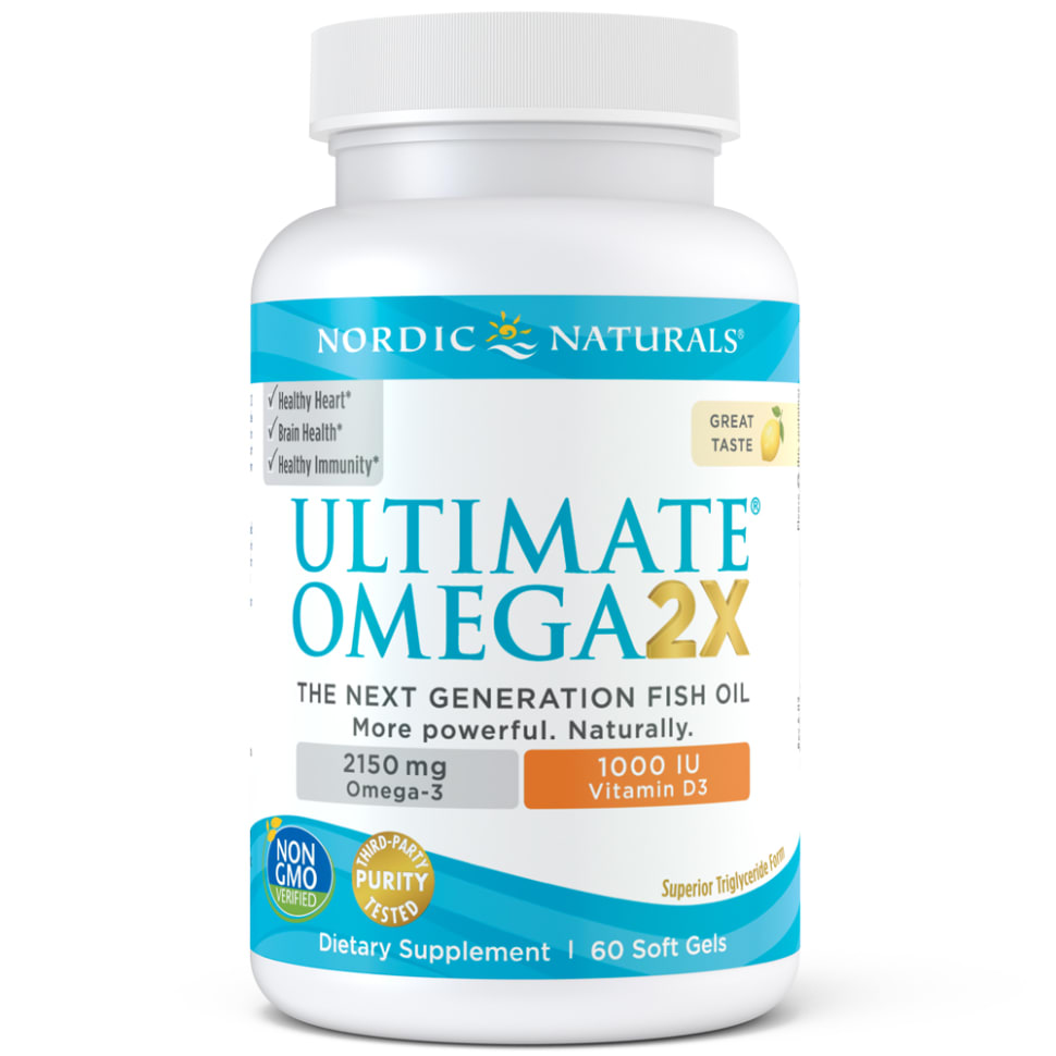 Ultimate Omega 2X w/Vitamin D3
