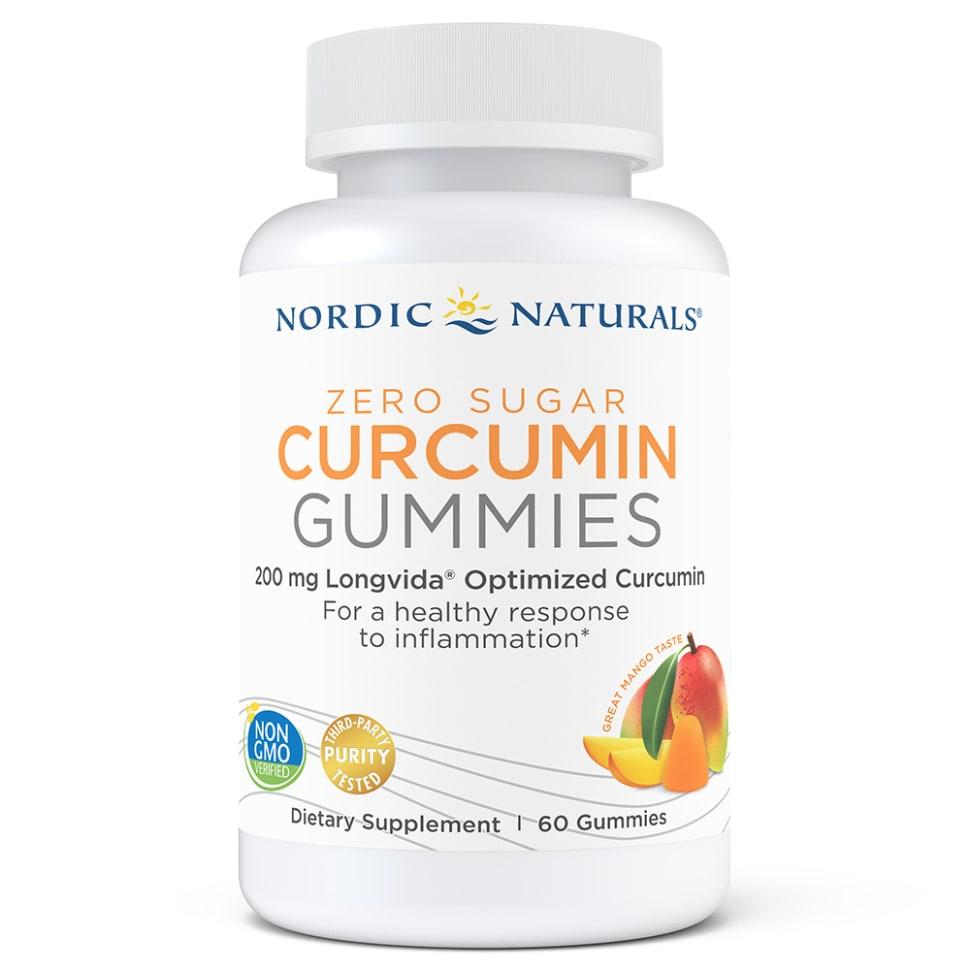 Zero Sugar Curcumin Gummies
