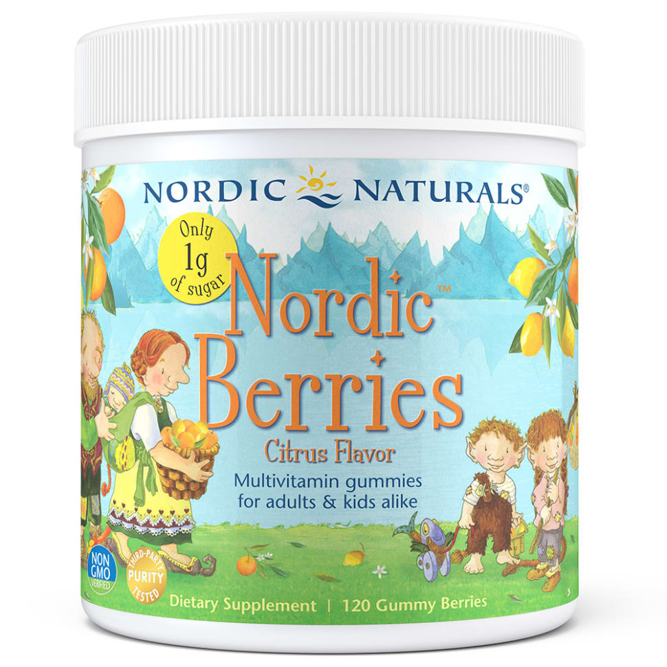 Reduced Sugar Nordic Berries