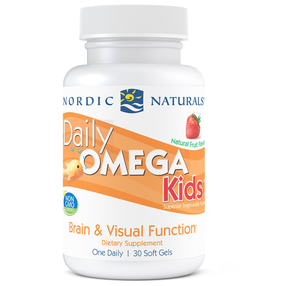 儿童每日Omega鱼油