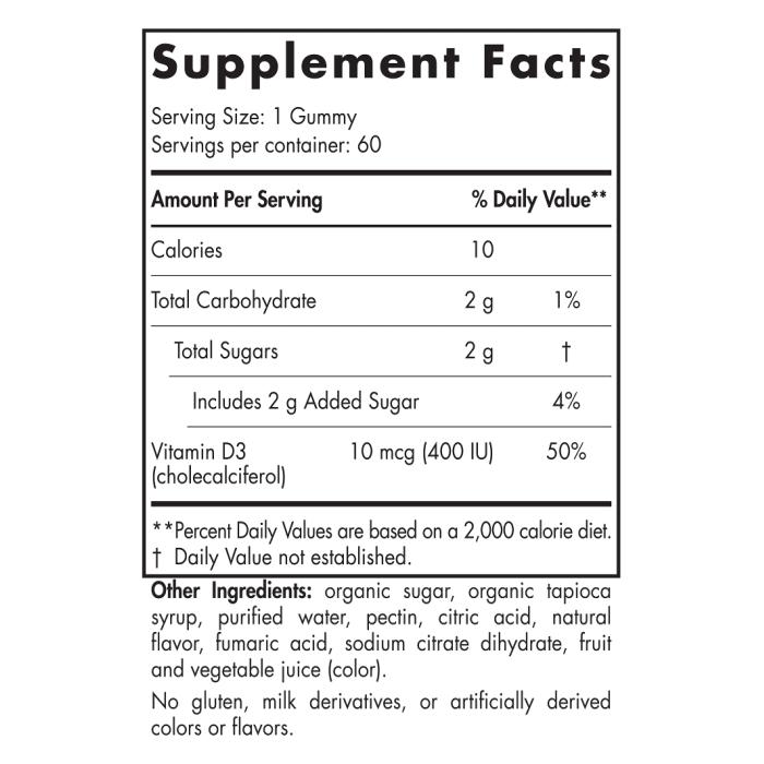Vitamin D3 Gummies KIDS