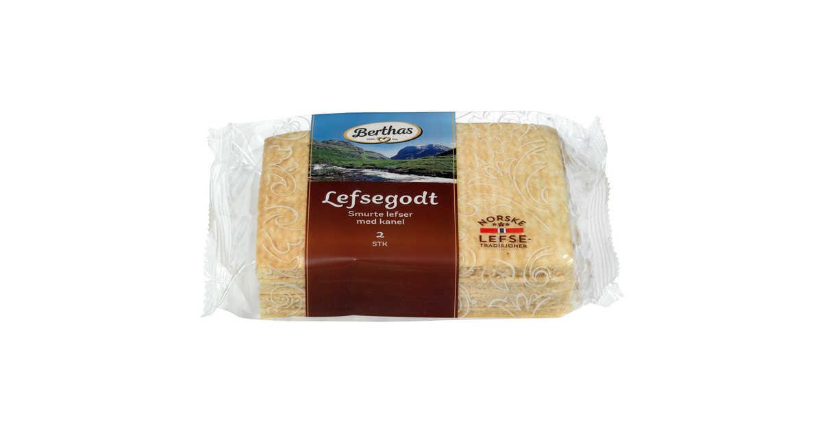 Vestlandslefse pastry gram 5,25 $ Add to cart; Berthas tykklefse pastry gram (2-pack) 3,69 $ Add to cart; Bjørken Fyrstekake bites pastry grams 5,25 $.