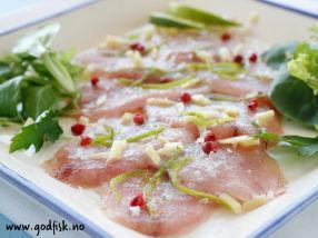 Limemarinert makrell