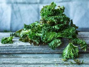 Rask og sunn grønnkålchips