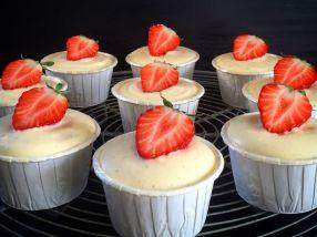 Muffins med ostekrem