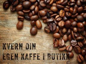 Kvern din egen kaffe