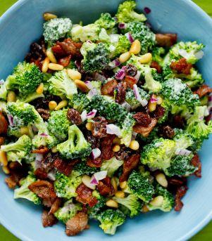 Brokkolisalat med bacon