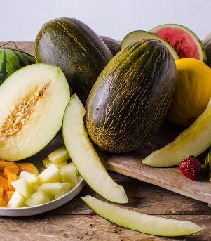 Salat + melon = sant