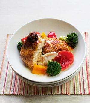 Kyllinggryte med fløte og grønnsaker