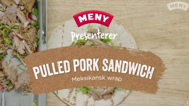 Lag Pulled Pork Sandwich