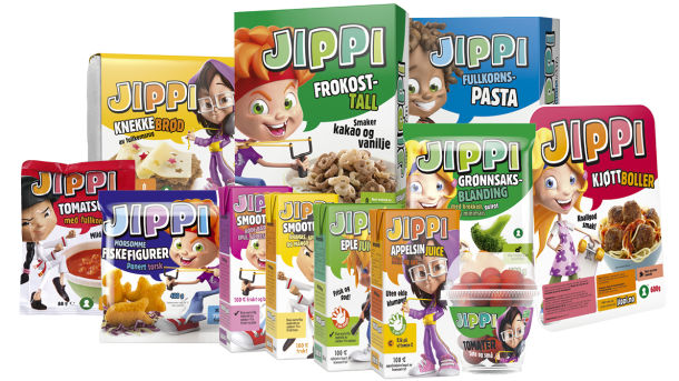 Jippi - sunnere barnefavoritter