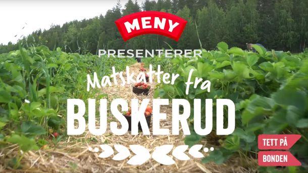 Søte jordbær fra Buskerud