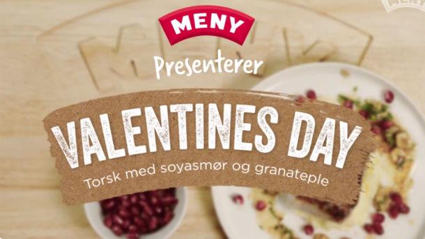 Den perfekte Valentine middagen - se video