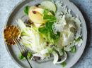 Florlett blomkål-, eple og fennikelsalat