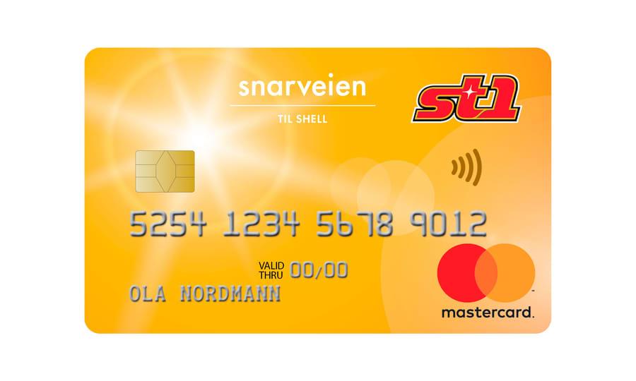 Kredittkortet St1 MasterCard