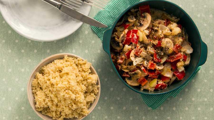 Soppgryte med ris eller couscous