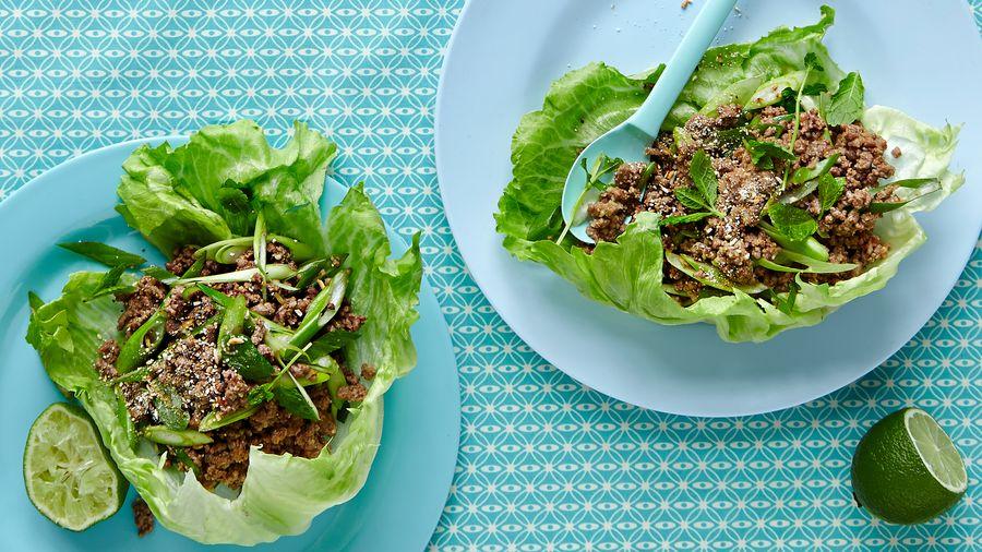 """Thailandsk """"Larb"""" salat"""