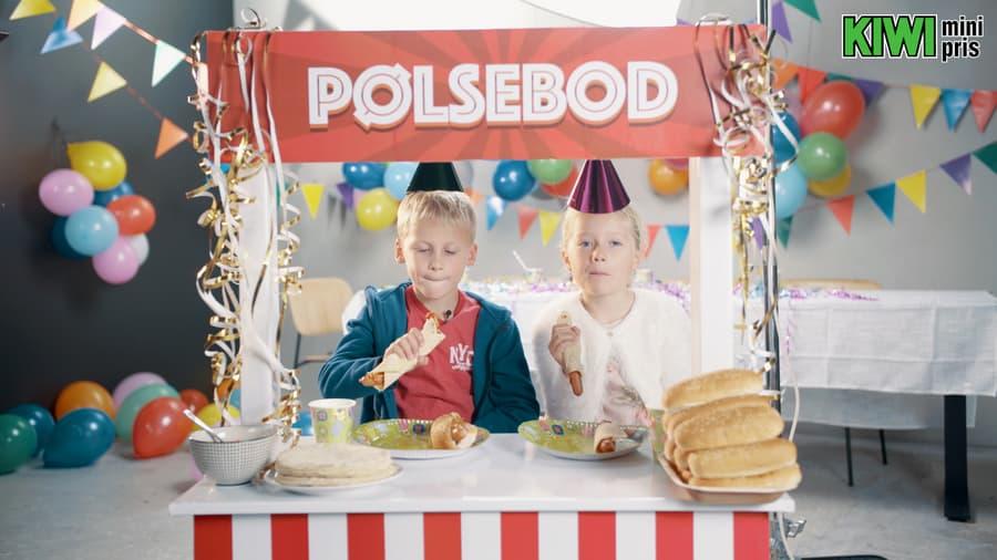 Pølser er populær mat i barnebursdager, og mat de fleste kan spise en eller annen variant av.