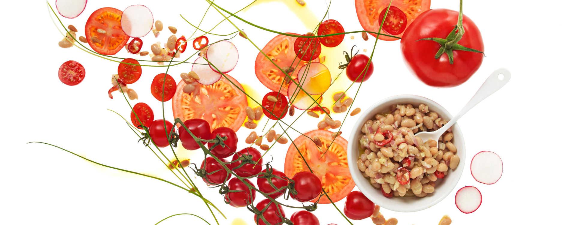 Spicy tomatsalat