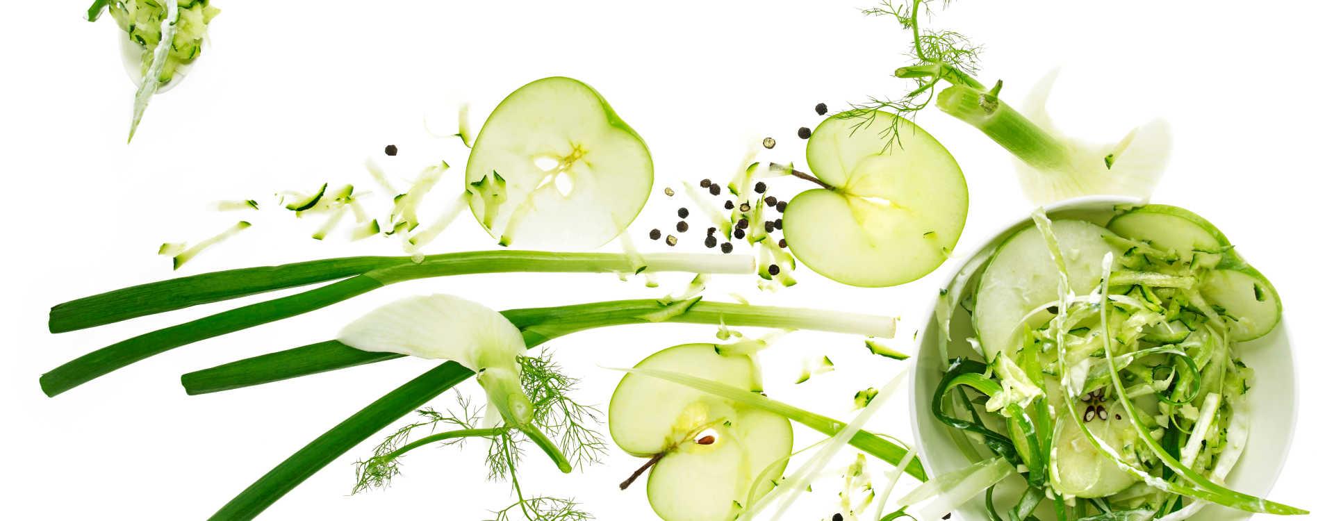 Kremete sprø grønnsaker med mye smak