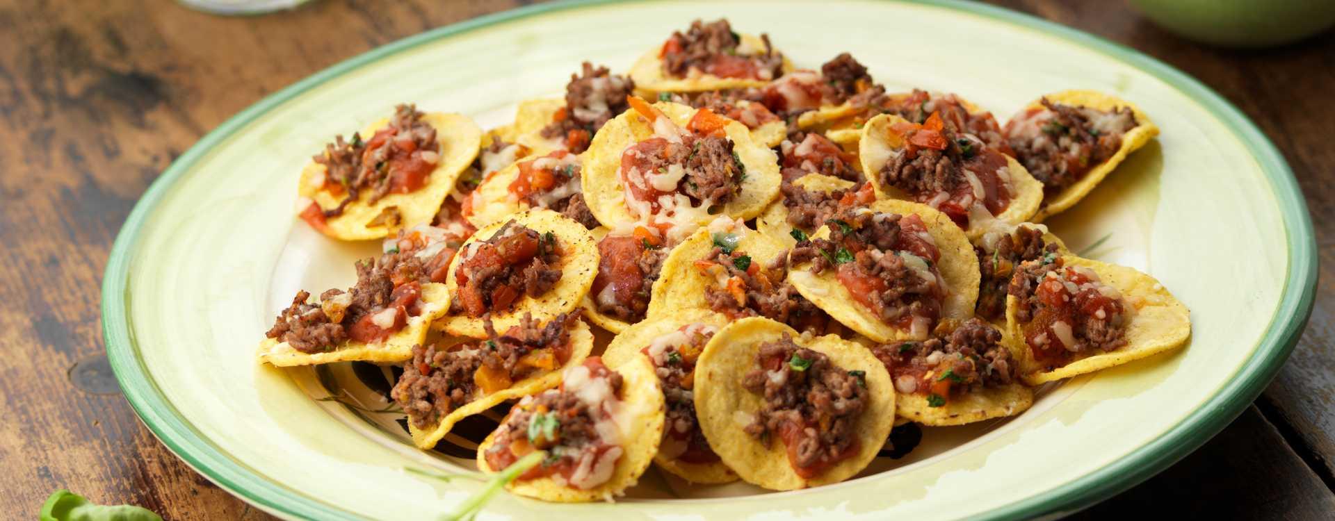 Ovnsgratinerte nachos