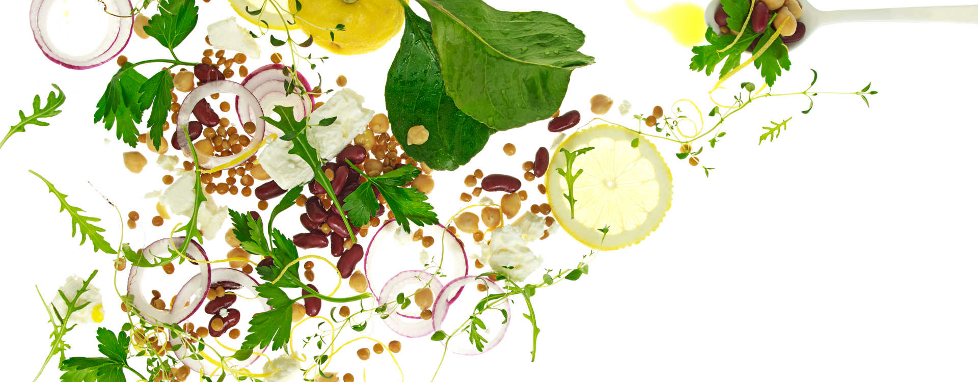 Mettende bønnesalat med feta
