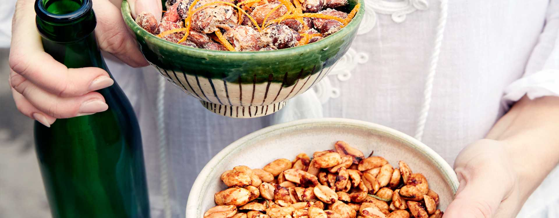 Ristede kryddernøtter