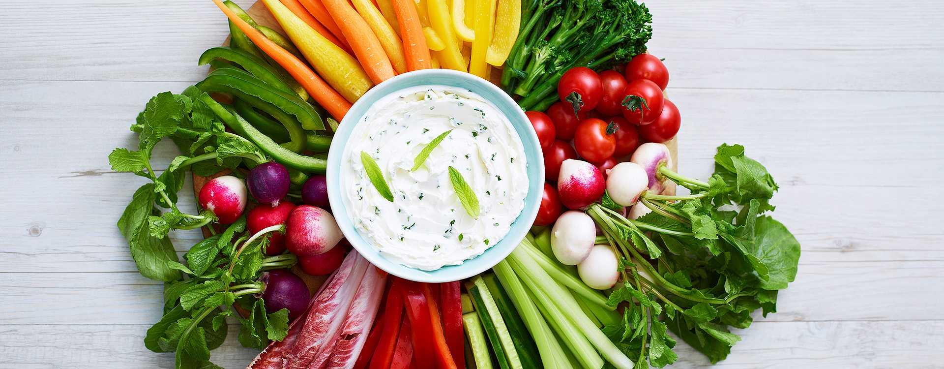 Grønnsaksdip