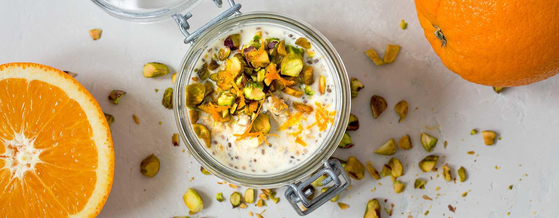 Drømmegrøt med appelsin og yoghurt