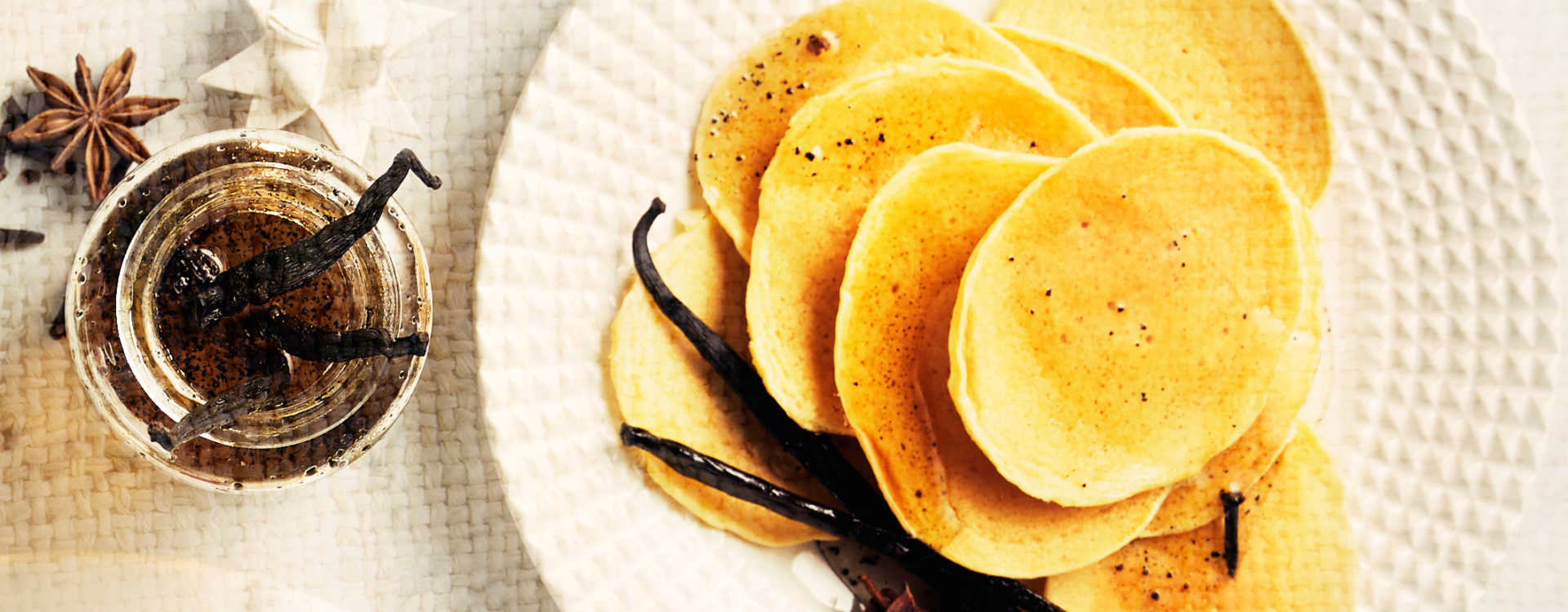 Pannekaker med julesirup