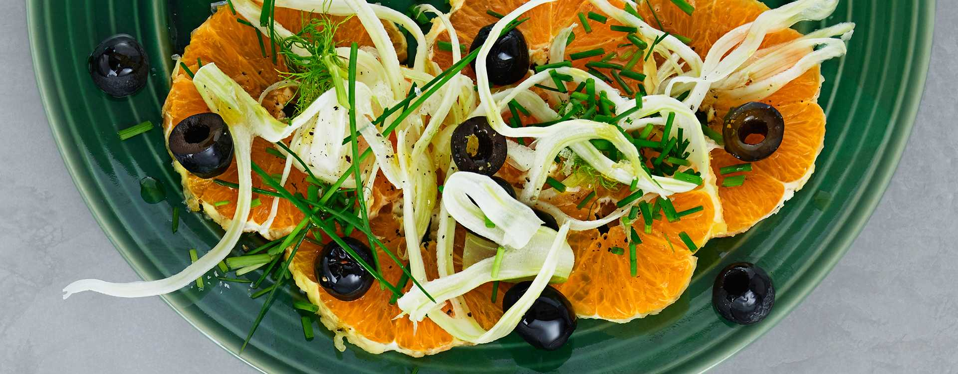 Appelsinsalat med fennikel