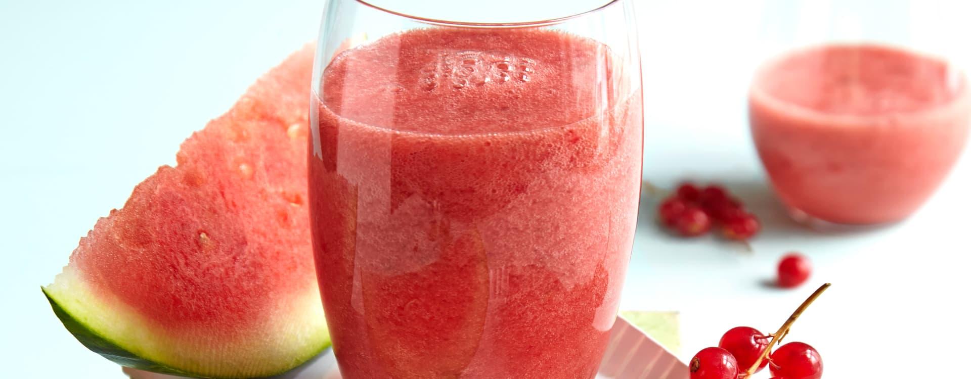 Vannmelon-shake med rips