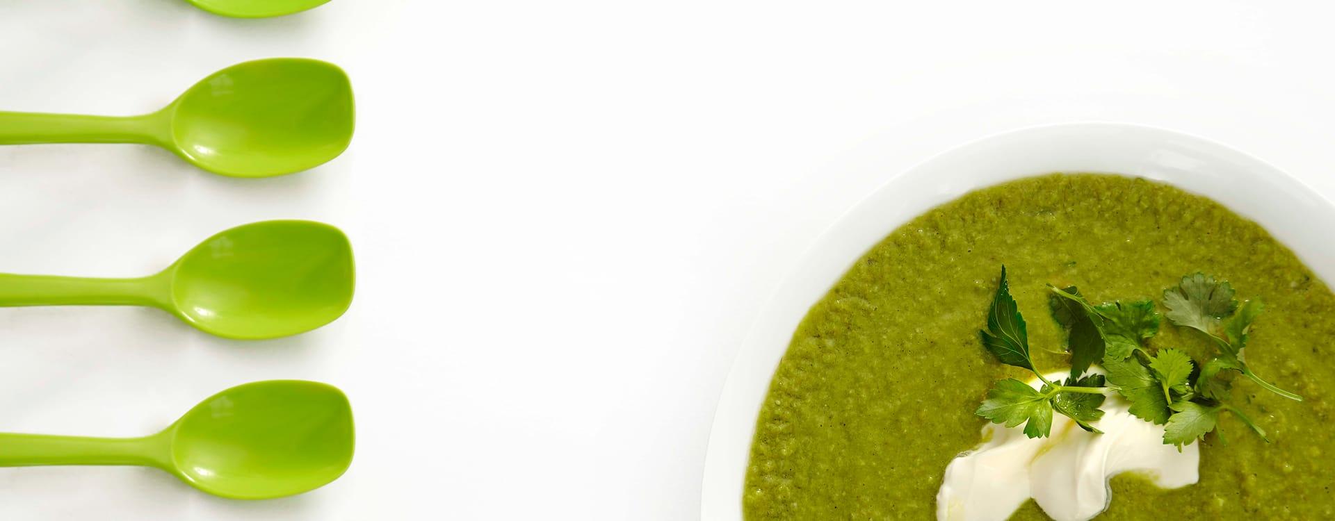 Grønn ertesuppe