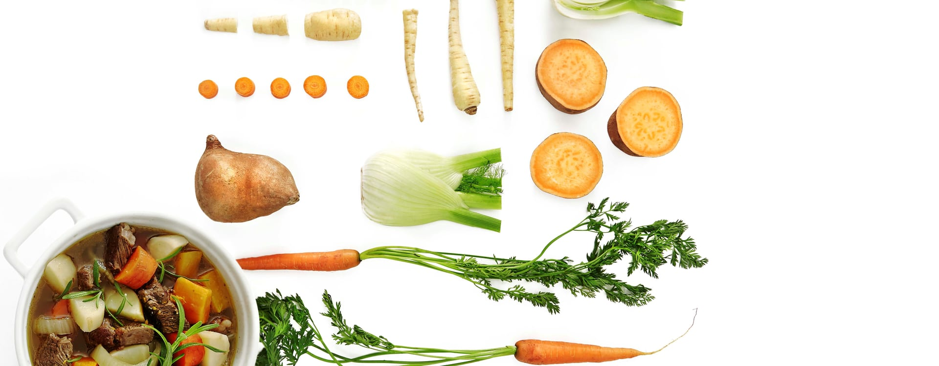 Lapskaus med mye grønnsaker