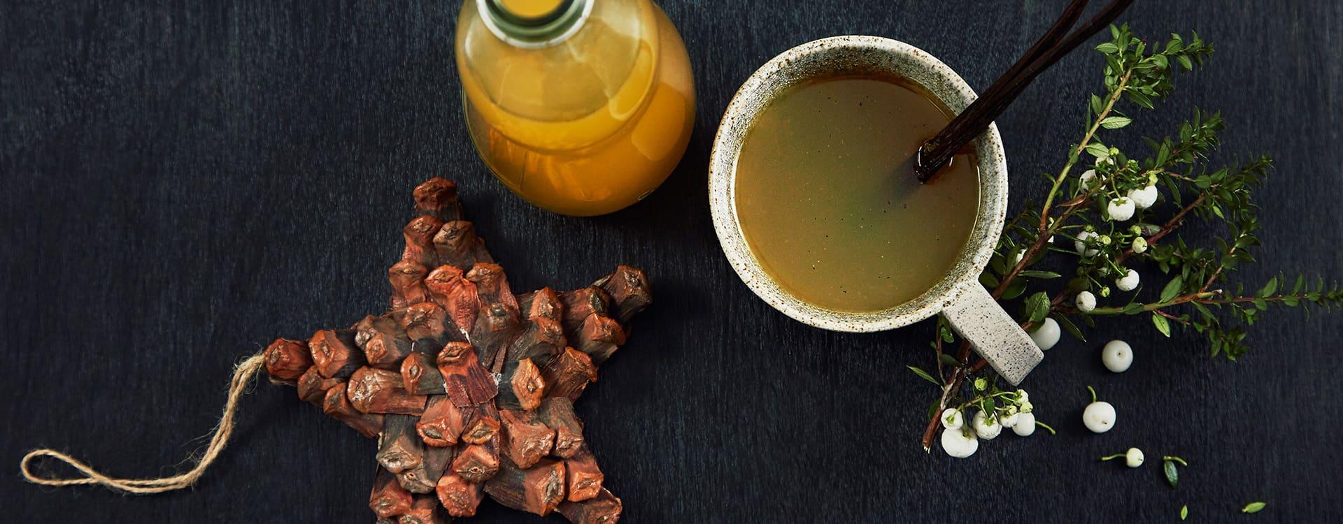Julete med appelsin og vanilje