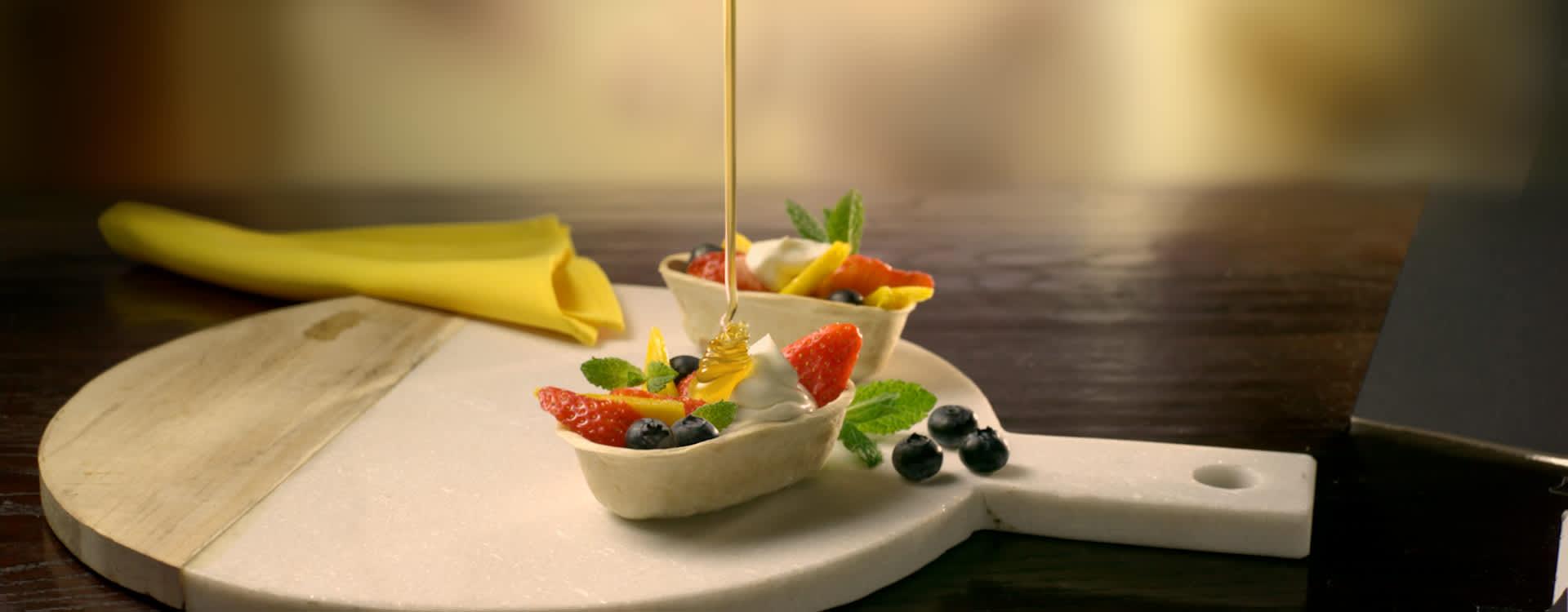 Mini Stand'N Stuff™ Taco med frukt