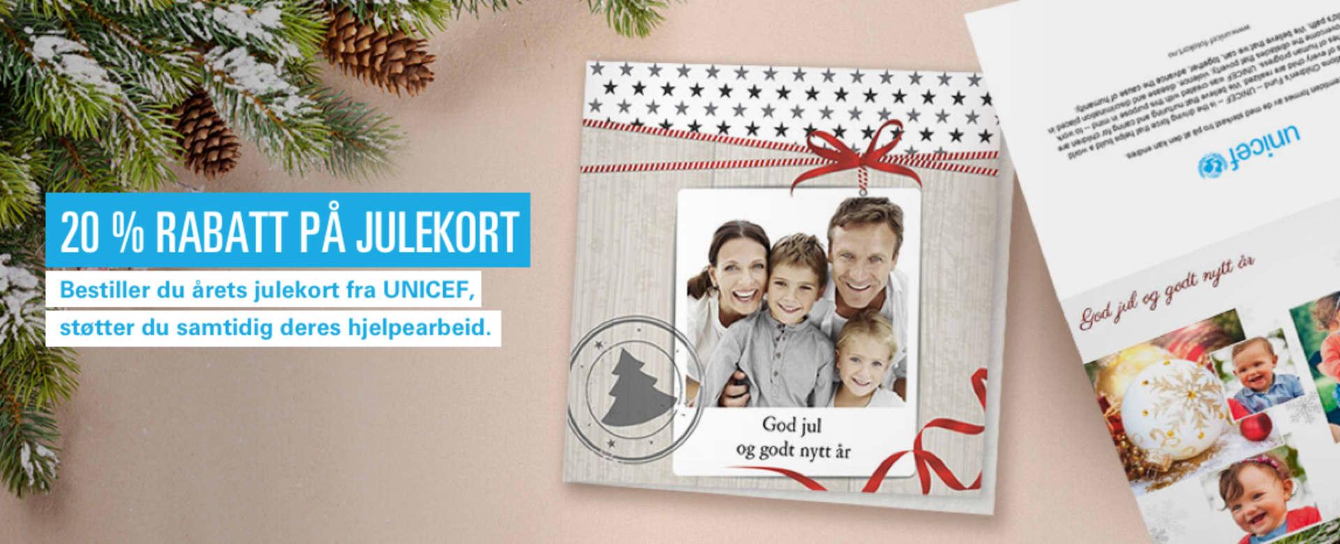 40992d73e19403 Disse julekortene gleder både din familie og noen som virkelig trenger det
