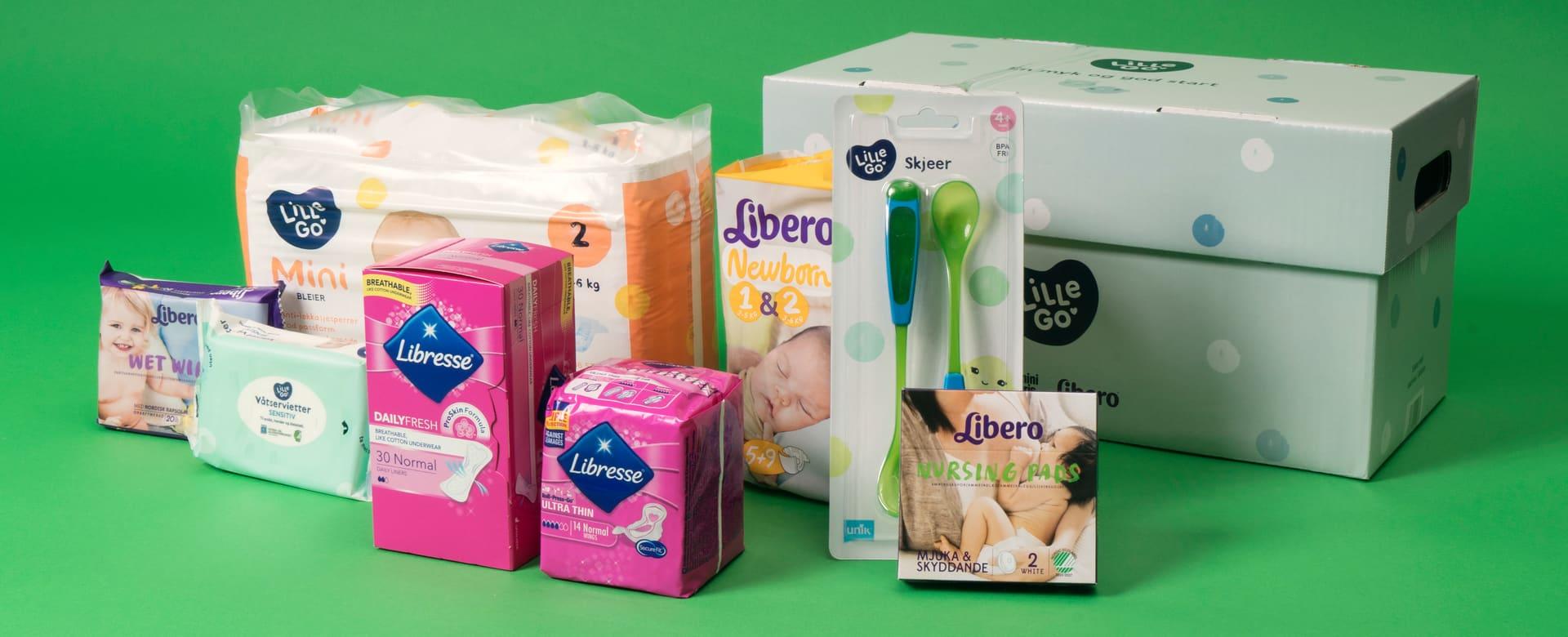 gratis babypakker pampers