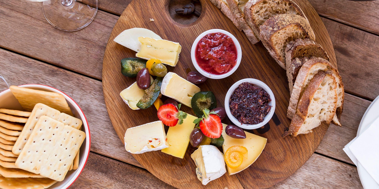 tilbehør til ost og kjeks