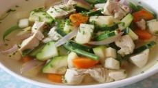 Høstsuppe med kylling