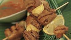 Orientalsk grillspyd