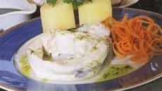Kokt torsk med lett persillesmør