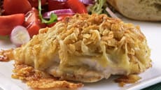 Sprøstekt kylling med ost