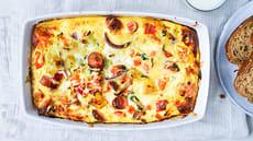 Omelett i ovnen