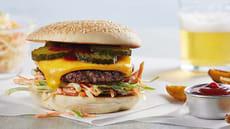 Spicy Coleslaw Burger