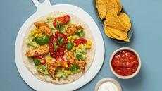 Kyllingstrimler med guacamole