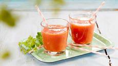 Rød glede-smoothie