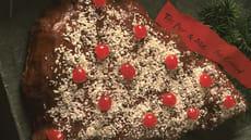Appelsin/sjokoladekake til jul