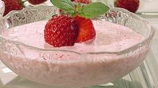 Sommersuppe med jordbær