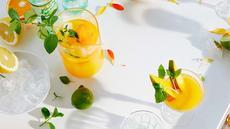 Appelsin- og myntelimonade